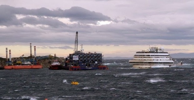 Σε δοκιμασία η ευστάθεια του Costa Concordia - e-Nautilia.gr | Το Ελληνικό Portal για την Ναυτιλία. Τελευταία νέα, άρθρα, Οπτικοακουστικό Υλικό