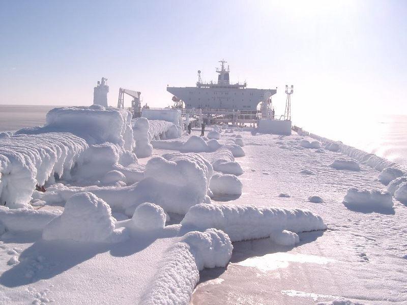 Frozen ship! - e-Nautilia.gr | Το Ελληνικό Portal για την Ναυτιλία. Τελευταία νέα, άρθρα, Οπτικοακουστικό Υλικό