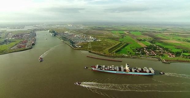 Δείτε το μεγαλύτερο πλοίο στον κόσμο στο λιμάνι της Αμβέρσας [video] - e-Nautilia.gr   Το Ελληνικό Portal για την Ναυτιλία. Τελευταία νέα, άρθρα, Οπτικοακουστικό Υλικό