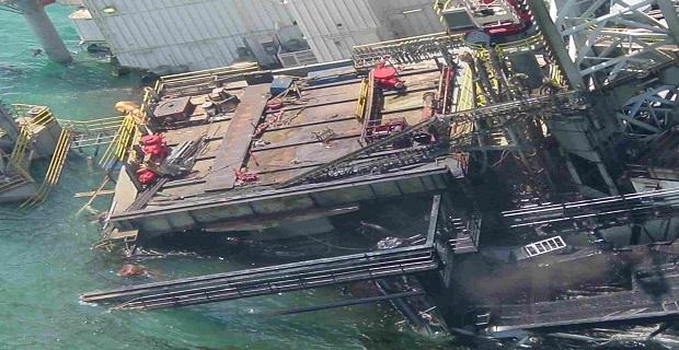 Βύθιση εξέδρας άντλησης πετρελαίου στην Σ. Αραβία - e-Nautilia.gr | Το Ελληνικό Portal για την Ναυτιλία. Τελευταία νέα, άρθρα, Οπτικοακουστικό Υλικό