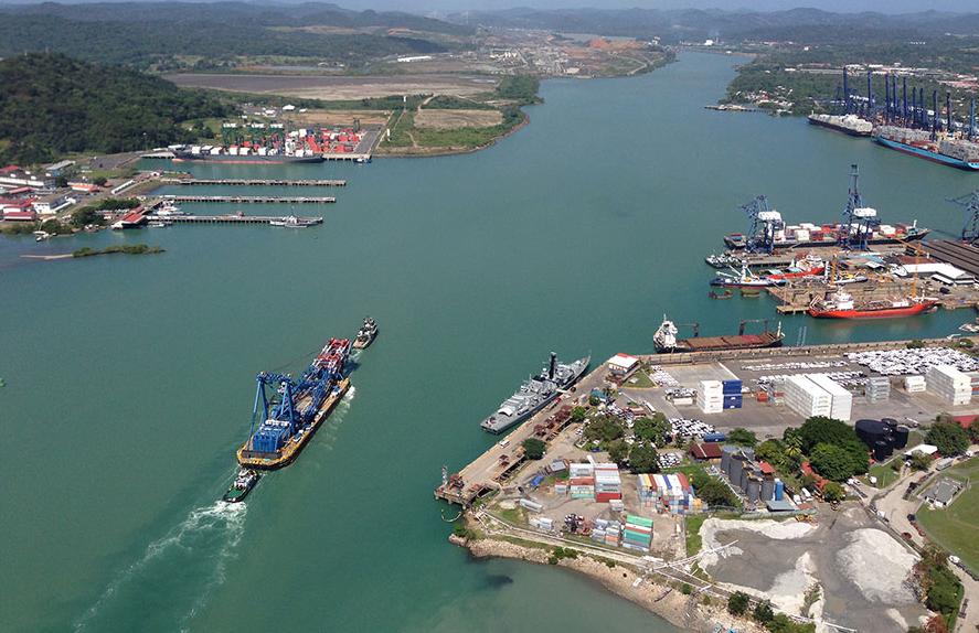 Τεράστιος πλωτός γερανός διασχίζει τη Διώρυγα του Παναμά  [pics] - e-Nautilia.gr | Το Ελληνικό Portal για την Ναυτιλία. Τελευταία νέα, άρθρα, Οπτικοακουστικό Υλικό