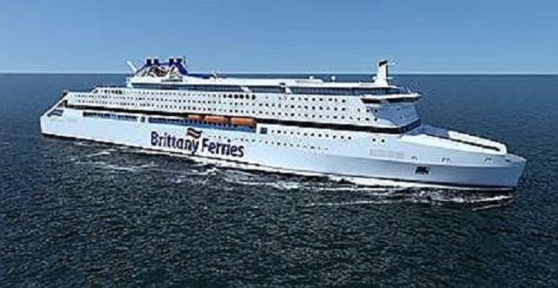 Κινούμενημε φυσικόαέριοη νέα ναυαρχίδατης BrittanyFerries - e-Nautilia.gr | Το Ελληνικό Portal για την Ναυτιλία. Τελευταία νέα, άρθρα, Οπτικοακουστικό Υλικό