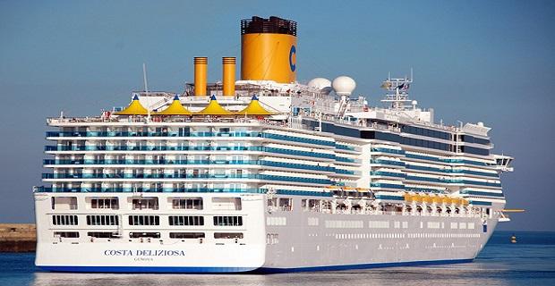 Costa Deliziosa: Το πρώτο κρουαζιερόπλοιο του 2014 - e-Nautilia.gr | Το Ελληνικό Portal για την Ναυτιλία. Τελευταία νέα, άρθρα, Οπτικοακουστικό Υλικό