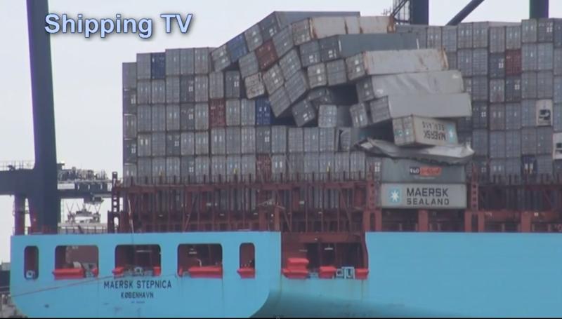 Άλλο ένα container θύμα της «καταιγίδας Ηρακλή» [video+pics] - e-Nautilia.gr | Το Ελληνικό Portal για την Ναυτιλία. Τελευταία νέα, άρθρα, Οπτικοακουστικό Υλικό