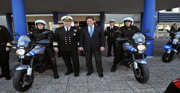 Με 32 μοτοσικλέτες ενισχύεται το Λιμενικό Σώμα - e-Nautilia.gr | Το Ελληνικό Portal για την Ναυτιλία. Τελευταία νέα, άρθρα, Οπτικοακουστικό Υλικό