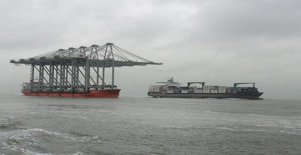 Παραδόθηκαν εννέα κινέζικοι γερανοί στο Λιμάνι του Ρότερνταμ - e-Nautilia.gr | Το Ελληνικό Portal για την Ναυτιλία. Τελευταία νέα, άρθρα, Οπτικοακουστικό Υλικό