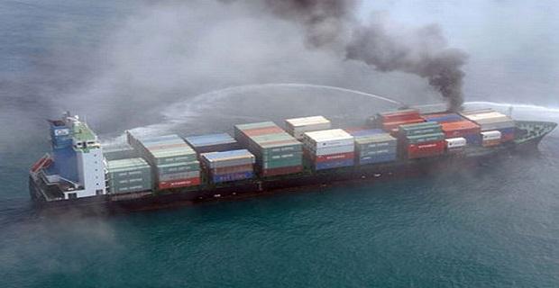 Πυρκαγιά ξέσπασε σε containership στη Φλόριντα - e-Nautilia.gr   Το Ελληνικό Portal για την Ναυτιλία. Τελευταία νέα, άρθρα, Οπτικοακουστικό Υλικό