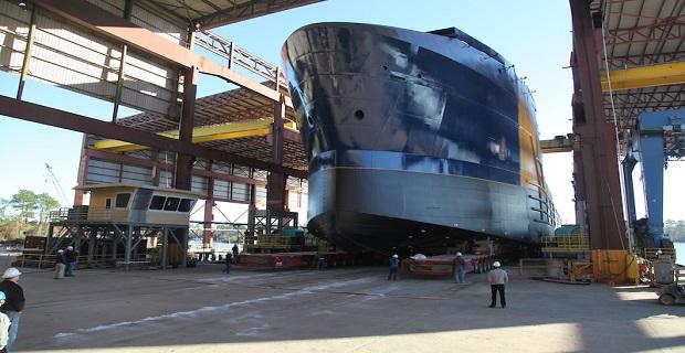 Έτοιμο το πρώτο αμερικάνικο πλοίο ανοικτής θαλάσσης με υγραέριο (Video) - e-Nautilia.gr   Το Ελληνικό Portal για την Ναυτιλία. Τελευταία νέα, άρθρα, Οπτικοακουστικό Υλικό