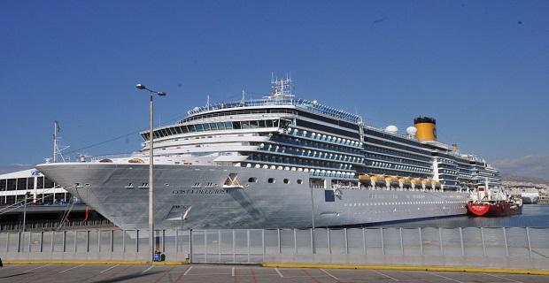 Υπουργός Ναυτιλίας και Αιγαίου: Υποδοχή του πρώτου κρουαζιερόπλοιου της χρονιάς - e-Nautilia.gr | Το Ελληνικό Portal για την Ναυτιλία. Τελευταία νέα, άρθρα, Οπτικοακουστικό Υλικό