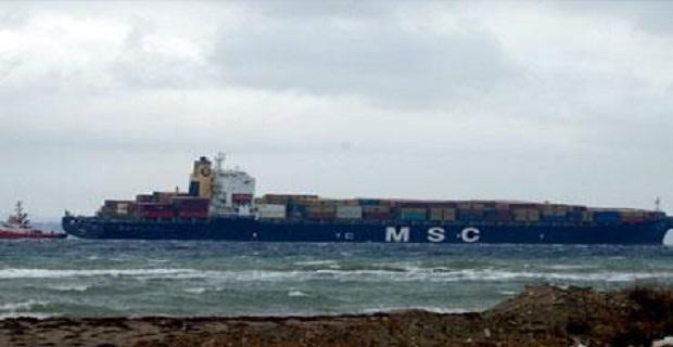Το containership «MSC Sarah» προσάραξε στις όχθες των Δαρδανελίων[pics] - e-Nautilia.gr | Το Ελληνικό Portal για την Ναυτιλία. Τελευταία νέα, άρθρα, Οπτικοακουστικό Υλικό