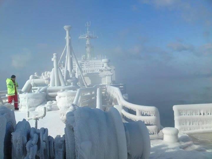 Totally freeze!!! - e-Nautilia.gr | Το Ελληνικό Portal για την Ναυτιλία. Τελευταία νέα, άρθρα, Οπτικοακουστικό Υλικό