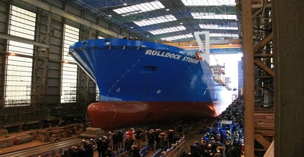Ναυπηγήθηκε το πλοίο ανύψωσης μεγάλων βαρών ROLLDOCK STORM (Video) - e-Nautilia.gr | Το Ελληνικό Portal για την Ναυτιλία. Τελευταία νέα, άρθρα, Οπτικοακουστικό Υλικό
