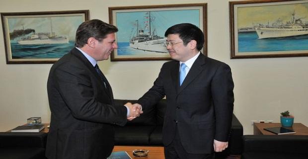 Συνάντηση Βαρβιτσιώτη με τον Πρέσβη της Λ.Δ. Κίνας, ZouXiaoli - e-Nautilia.gr | Το Ελληνικό Portal για την Ναυτιλία. Τελευταία νέα, άρθρα, Οπτικοακουστικό Υλικό