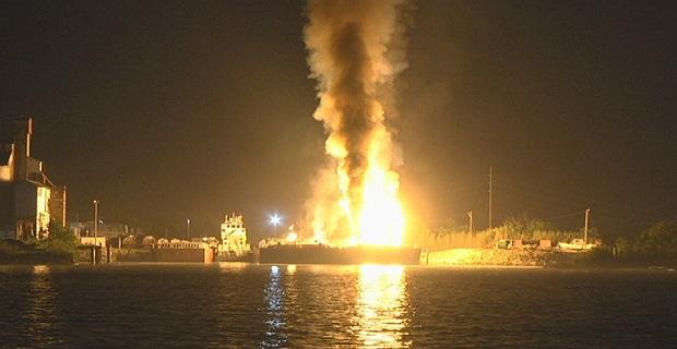 Έξι τραυματίες από έκρηξη σε φoρτηγό πλοίο - e-Nautilia.gr | Το Ελληνικό Portal για την Ναυτιλία. Τελευταία νέα, άρθρα, Οπτικοακουστικό Υλικό