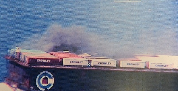 Φωτιά σε φορτηγίδα ανοιχτά των Μπαχαμών - e-Nautilia.gr | Το Ελληνικό Portal για την Ναυτιλία. Τελευταία νέα, άρθρα, Οπτικοακουστικό Υλικό