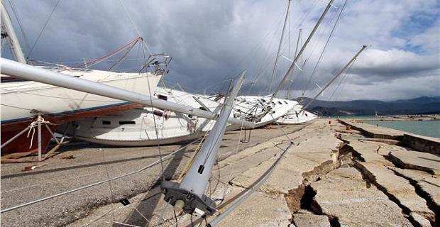 Ξεκινούν οι διαδικασίες αποκατάστασης ζημιών στο λιμένα Αργοστολίου - e-Nautilia.gr | Το Ελληνικό Portal για την Ναυτιλία. Τελευταία νέα, άρθρα, Οπτικοακουστικό Υλικό