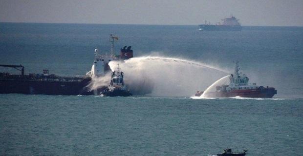 Πυρκαγιά σε χημικό δεξαμενόπλοιο [pics] - e-Nautilia.gr   Το Ελληνικό Portal για την Ναυτιλία. Τελευταία νέα, άρθρα, Οπτικοακουστικό Υλικό