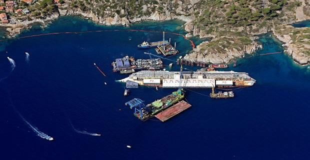 Costa Concordia: Περισσότερες αποβάθρες για να ορθοποδήσει[vid] - e-Nautilia.gr   Το Ελληνικό Portal για την Ναυτιλία. Τελευταία νέα, άρθρα, Οπτικοακουστικό Υλικό