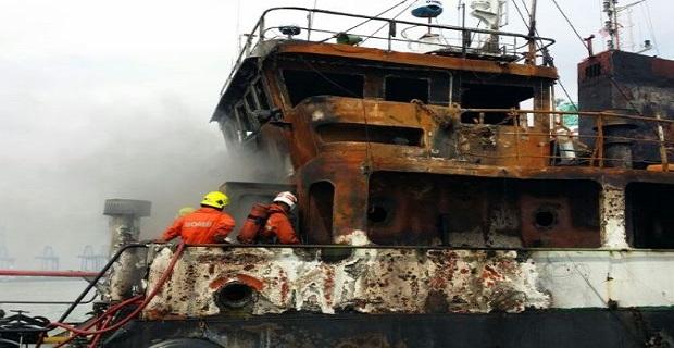 Φωτιά σε χημικό δεξαμενόπλοιο - e-Nautilia.gr | Το Ελληνικό Portal για την Ναυτιλία. Τελευταία νέα, άρθρα, Οπτικοακουστικό Υλικό