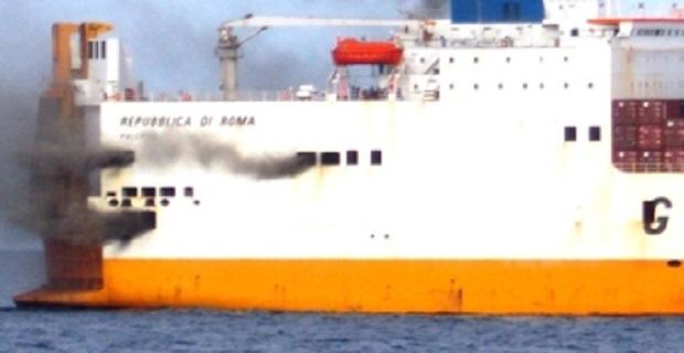 Εκκένωση οχηματαγωγού της Grimaldi μετά από πυρκαγιά στο Τόγκο - e-Nautilia.gr   Το Ελληνικό Portal για την Ναυτιλία. Τελευταία νέα, άρθρα, Οπτικοακουστικό Υλικό