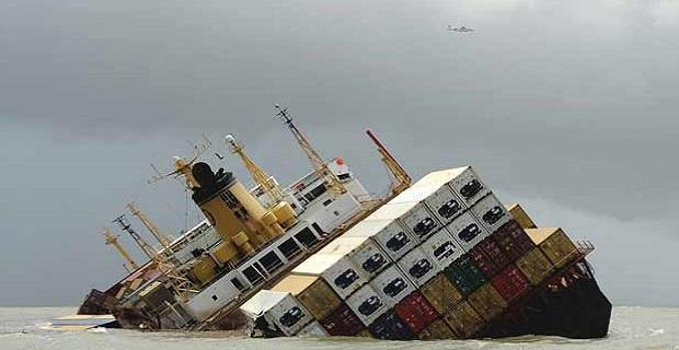 Containership βυθίστηκε μετά από σύγκρουση με ferry - e-Nautilia.gr | Το Ελληνικό Portal για την Ναυτιλία. Τελευταία νέα, άρθρα, Οπτικοακουστικό Υλικό