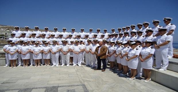 Επίσκεψη Δόκιμων Σημαιοφόρων Λ.Σ στην ΑΕΝ/ΠΛ/Σύρου - e-Nautilia.gr | Το Ελληνικό Portal για την Ναυτιλία. Τελευταία νέα, άρθρα, Οπτικοακουστικό Υλικό