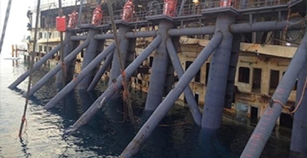 Βγήκε εκτός θέσης ο πρώτος πλωτήρας του Costa Concordia - e-Nautilia.gr | Το Ελληνικό Portal για την Ναυτιλία. Τελευταία νέα, άρθρα, Οπτικοακουστικό Υλικό