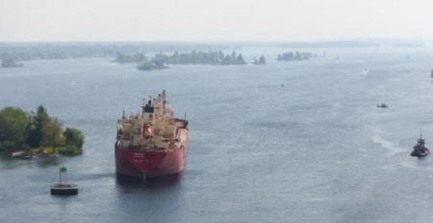Φορτηγό πλοίο έχασε τον έλεγχο στο St. Lawrence Seaway - e-Nautilia.gr | Το Ελληνικό Portal για την Ναυτιλία. Τελευταία νέα, άρθρα, Οπτικοακουστικό Υλικό
