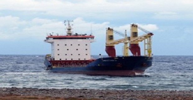 Φορτηγό πλοίο προσάραξε στα Νέα Μουδανιά - e-Nautilia.gr   Το Ελληνικό Portal για την Ναυτιλία. Τελευταία νέα, άρθρα, Οπτικοακουστικό Υλικό