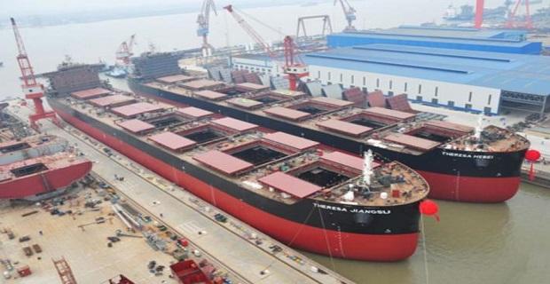 Οι Έλληνες έχουν τις περισσότερες παραγγελίες πλοίων σε ναυπηγεία της Κίνας - e-Nautilia.gr | Το Ελληνικό Portal για την Ναυτιλία. Τελευταία νέα, άρθρα, Οπτικοακουστικό Υλικό