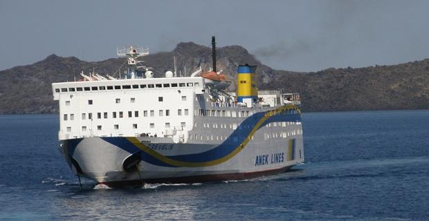 Προσάραξη του «Πρέβελης» με 190 επιβάτες στη νησίδα Ασπρονήσι Θήρας - e-Nautilia.gr | Το Ελληνικό Portal για την Ναυτιλία. Τελευταία νέα, άρθρα, Οπτικοακουστικό Υλικό