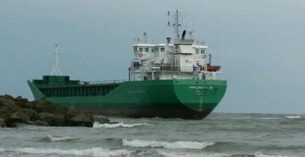 Προσάραξη φορτηγού πλοίου στην Ιρλανδία [vid] - e-Nautilia.gr | Το Ελληνικό Portal για την Ναυτιλία. Τελευταία νέα, άρθρα, Οπτικοακουστικό Υλικό