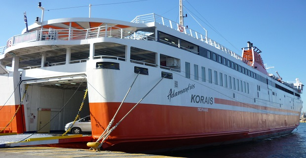 Απλήρωτοι οι ναυτικοί στο «Αδαμάντιος Κοραής» - e-Nautilia.gr | Το Ελληνικό Portal για την Ναυτιλία. Τελευταία νέα, άρθρα, Οπτικοακουστικό Υλικό