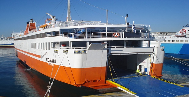 Αίρεται η επίσχεση στο «Αδαμάντιος Κοραής» - e-Nautilia.gr | Το Ελληνικό Portal για την Ναυτιλία. Τελευταία νέα, άρθρα, Οπτικοακουστικό Υλικό