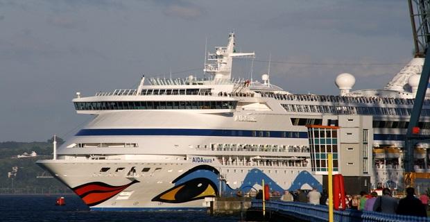 Το «Aida Aura» στο λιμάνι της Θεσσαλονίκης - e-Nautilia.gr | Το Ελληνικό Portal για την Ναυτιλία. Τελευταία νέα, άρθρα, Οπτικοακουστικό Υλικό