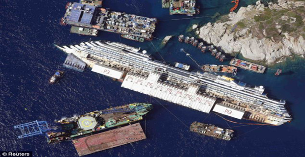 Γιατί επιλέχθηκε η Γένοβα για τη διάλυση του Conocordia - e-Nautilia.gr | Το Ελληνικό Portal για την Ναυτιλία. Τελευταία νέα, άρθρα, Οπτικοακουστικό Υλικό