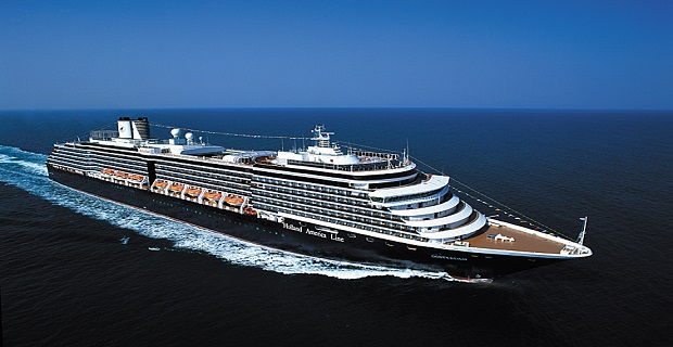 ms Oosterdam at Sea
