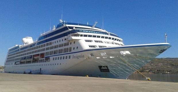 Στη Σούδα το «Oceania Insignia» - e-Nautilia.gr | Το Ελληνικό Portal για την Ναυτιλία. Τελευταία νέα, άρθρα, Οπτικοακουστικό Υλικό