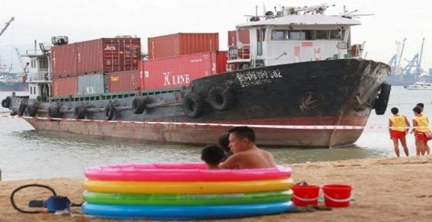 Φορτηγό πλοίο πήγε… για ηλιοθεραπεία στο Χονγκ Κόνγκ - e-Nautilia.gr   Το Ελληνικό Portal για την Ναυτιλία. Τελευταία νέα, άρθρα, Οπτικοακουστικό Υλικό