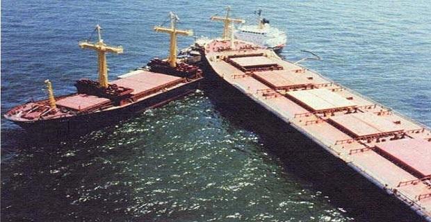 Σύγκρουση φορτηγών πλοίων στη Σαγκάη - e-Nautilia.gr | Το Ελληνικό Portal για την Ναυτιλία. Τελευταία νέα, άρθρα, Οπτικοακουστικό Υλικό
