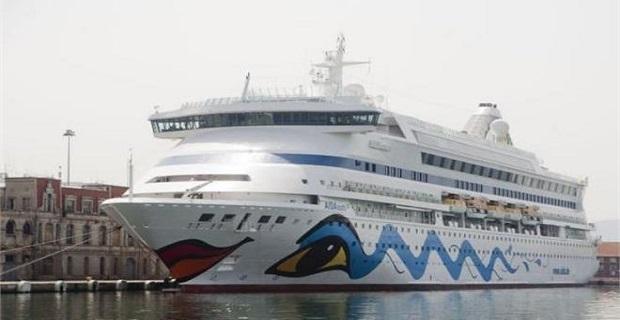 Στη Θεσσαλονίκη για δεύτερη φορά φέτος τo «Aida Aura» - e-Nautilia.gr | Το Ελληνικό Portal για την Ναυτιλία. Τελευταία νέα, άρθρα, Οπτικοακουστικό Υλικό