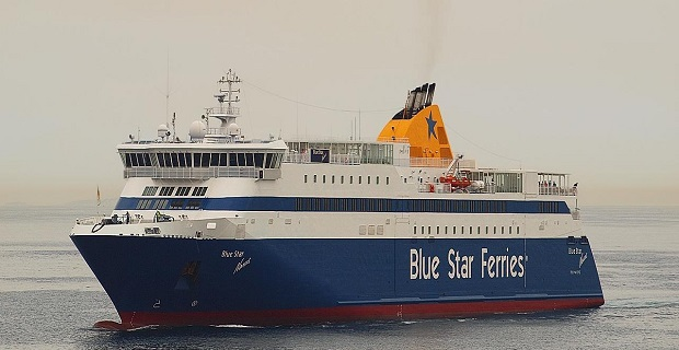 Προσέκρουσε στο λιμάνι της Τήνου το «Blue Star Νaxos» - e-Nautilia.gr | Το Ελληνικό Portal για την Ναυτιλία. Τελευταία νέα, άρθρα, Οπτικοακουστικό Υλικό