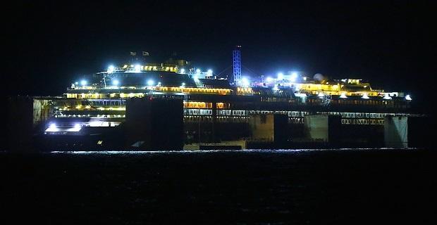 Στο δρόμο για τη Γένοβα το Concordia - e-Nautilia.gr | Το Ελληνικό Portal για την Ναυτιλία. Τελευταία νέα, άρθρα, Οπτικοακουστικό Υλικό