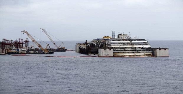 Έφτασε η ώρα της ανέλκυσης του Concordia - e-Nautilia.gr | Το Ελληνικό Portal για την Ναυτιλία. Τελευταία νέα, άρθρα, Οπτικοακουστικό Υλικό