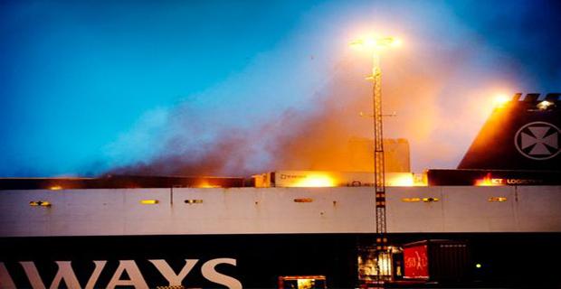 Μίζα φορτηγού πίσω από τη φωτιά σε Ro-Ro - e-Nautilia.gr | Το Ελληνικό Portal για την Ναυτιλία. Τελευταία νέα, άρθρα, Οπτικοακουστικό Υλικό