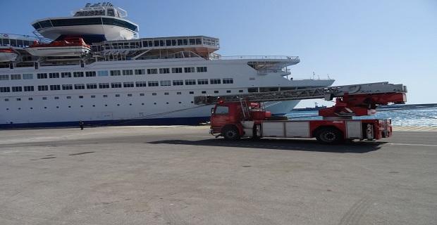 Άσκηση ετοιμότητας στο κρουαζιερόπλοιο «Louis Olympia» - e-Nautilia.gr | Το Ελληνικό Portal για την Ναυτιλία. Τελευταία νέα, άρθρα, Οπτικοακουστικό Υλικό