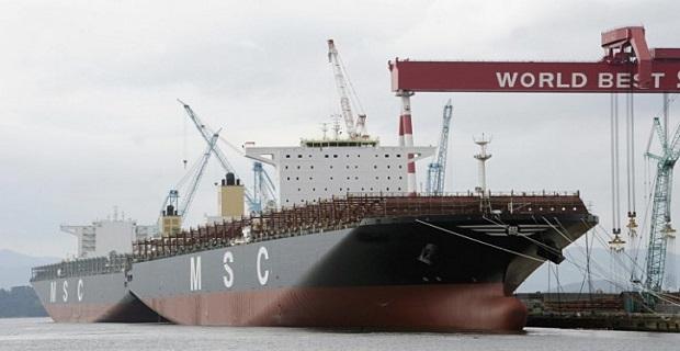 Το μεγαλύτερο πλοίο της παρέλαβε η MSC - e-Nautilia.gr | Το Ελληνικό Portal για την Ναυτιλία. Τελευταία νέα, άρθρα, Οπτικοακουστικό Υλικό