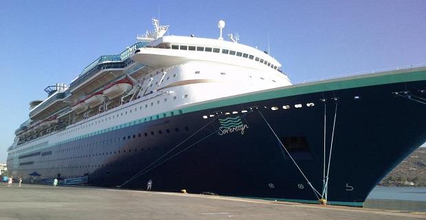 Στη Σούδα για πρώτη φορά το εντυπωσιακό κρουαζιερόπλοιο «Sovereign» - e-Nautilia.gr   Το Ελληνικό Portal για την Ναυτιλία. Τελευταία νέα, άρθρα, Οπτικοακουστικό Υλικό