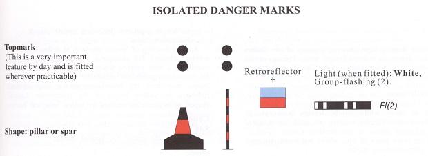 Σήμανση μεμονωμένου κινδύνου (Isolated Danger Marks)