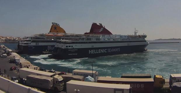 Τα πλοία «Blue Star Patmos» και «Nissos Mykonos» σε ένα διαφορετικό βίντεο [vid] - e-Nautilia.gr | Το Ελληνικό Portal για την Ναυτιλία. Τελευταία νέα, άρθρα, Οπτικοακουστικό Υλικό